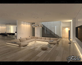 interior living scene Living Room 3D