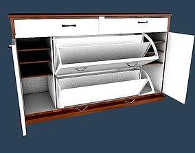 3D model Shoes cabinet 6