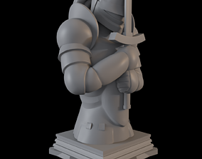 3D printable model Fate Zero Saber Class Chess Piece
