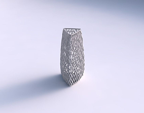 Vase triangle with lattice tiles 3D print model