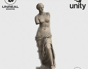 VR Sculpture The Aphrodite of Milos Venus de Milo 3D model