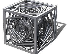 Vortex Tesseract 3D print model