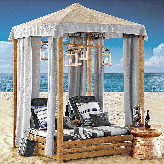 Beach Bed Set
