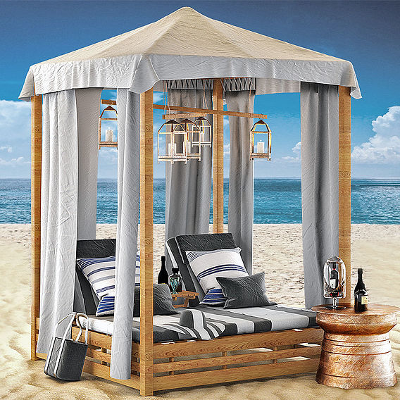 Beach Bed Set