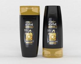 L Oreal Paris Elvive Shampoo 3D model