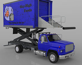 Airport Supply Truck 3D model