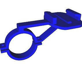 gopro 30 mm mount Extended 3D printable model