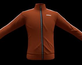 adidas jacket 3D asset realtime