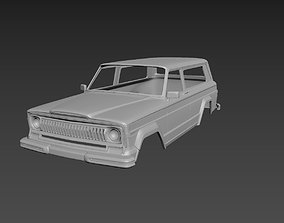 Jeep Grand Cherokee 1977 Body For Print