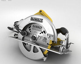 3D model Dewalt Circular Saw