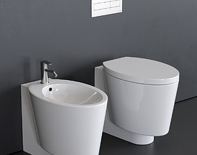 3D model Scarabeo Ceramiche Wish WC