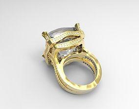gemstone Ring 3D print model