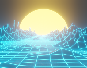 3D Illuminating path