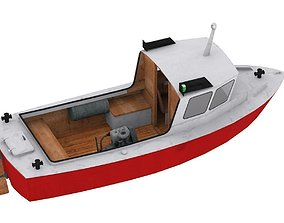 Peskar boat 3D model