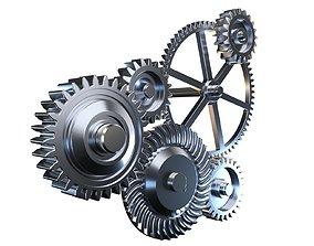 Gear mechanism v1 3D model