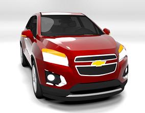 CHEVROLET TRAX 2014 LOWPOLY 3D asset