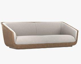 Modena sofa By Porta Forma 3D