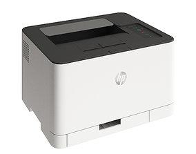 HP Color Laser 3D model