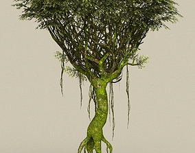 Game Ready Tree 23 3D model realtime
