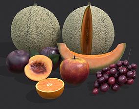3D model Five Fruits