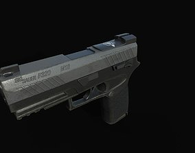 3D model Pistol Sig M18