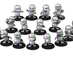 3D print model Quack attack Team