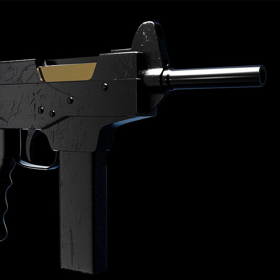 Russian PP-91 SMG