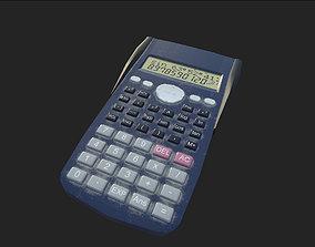 calculator 3D model realtime