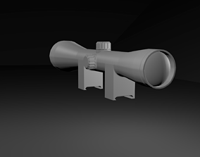 3D model basic scope