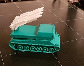 RUSSIAN BUK MISSILES LAUNCHER 3D print model