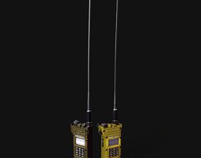 MR3000P VHF tactical handheld radio 3D model