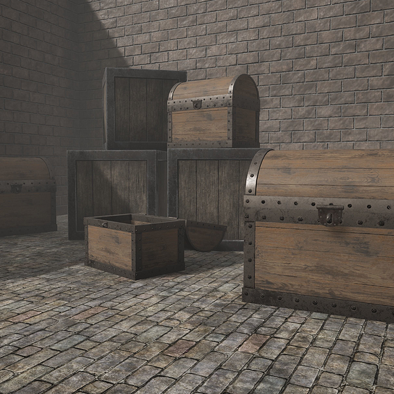 Wooden Chest for Project Mansion