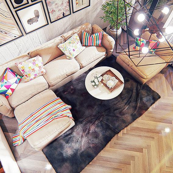Living room scandinavian I
