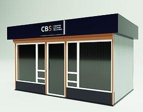 3D Mini-Mart 3- Shopping pavilion