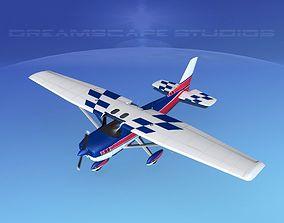 3D model Cessna 150 Aerobat V03