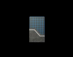 3D model Card Blue
