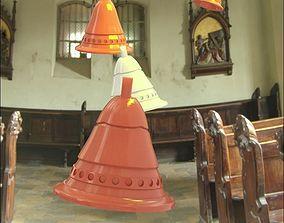 Xmas bell 3D print model