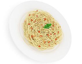 Spaghetti Carbonara 3D