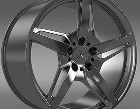3D model Mercedes Benz AMG GT S rim