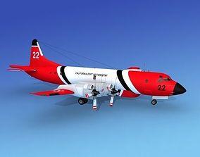 3D model Lockheed P-3 Orion CDF Hp