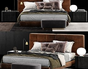Minotti Lawrence Bed 4 3D