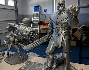 3D printable model ironman Thanos