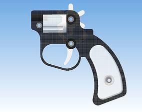 Rubber band gun 3D printable model