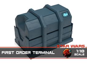 3D printable model Star Wars - First Order Terminal 1-18