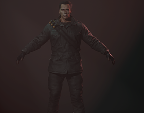Terminator T 850 Battle Units 3D model