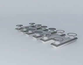 3D model Quad Hover