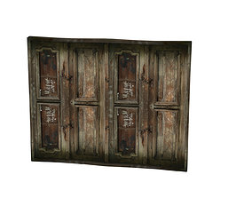 3D model Beautiful Boiserie 02