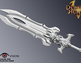 3D print model modelfor3dprint Meteoric Greatsword