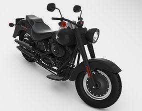 Harley Davidson transportation 3D model