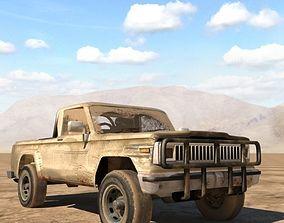 Jeep j20 truck 3D